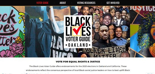 Black Lives Voter Guide